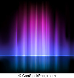 Light Fountain - Colored Light Fountain - Abstract...