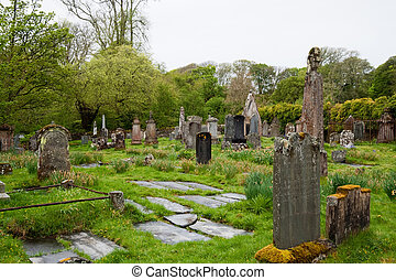 Islay cemetery - Cemetery on the isle of Islay