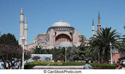 Hagia Sophia Scene 2 - Hagia Sophia Scene at Istanbul City,...