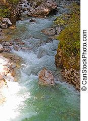 koritnica river - triglav national park - slovenia europe