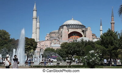 Hagia Sophia Scene at Istanbul City, shoot Canon 5D Mark II