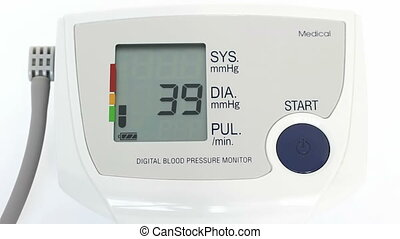 Cardio-monitor - Digital blood pressure monitor