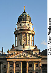 Gendarmenmarkt - Berlin: French Cathedral on Gendarmenmarkt...