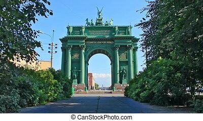 Narva Triumphal Gate, Russian history - The Narva Triumphal...