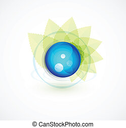 Nature sphere design - Vector illustration for your design