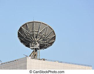 satélite, pratos