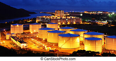 Aviation Fuel Tank Farm