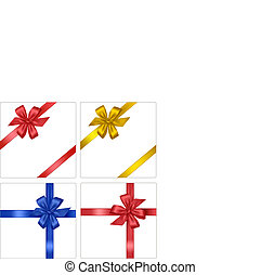 Collection of color bows