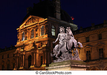 Statue of Louis XIV, Paris, France