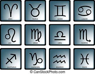 zodiac sign - vector