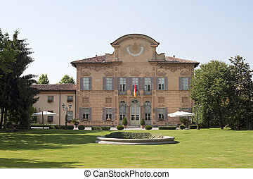 Cortenuova (Bergamo, Lombardy, Italy) - Palazzo Colleoni,...