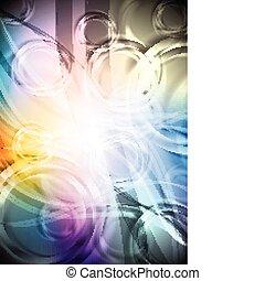 Vibrant multicolored backdrop