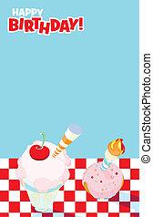 Picnic Party Invitation Design - Illustrated invitation...