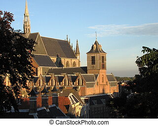 "Leiden Hooglandse Church - ""Hooglandse Kerk\"" is one of the..."