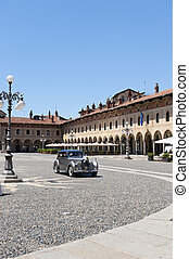 Vigevano, Piazza Ducale - Vigevano (Pavia, Lombardy, Italy)...