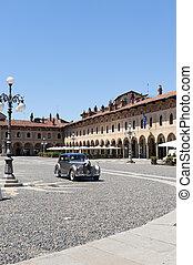 Vigevano, Piazza Ducale - Vigevano (Pavia, Lombardy, Italy)...
