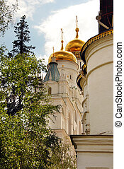 Cathedrals in Moscow Kremlin