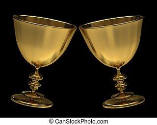Golden goblets - Golden goblets