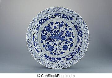 antique - classic design of the antique plate