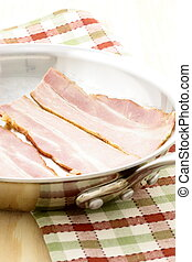 cured delicious bacon