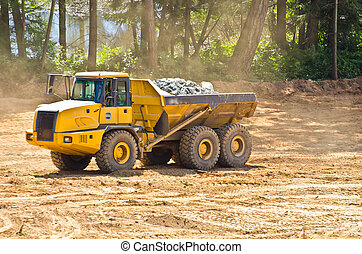 heavy duty dump truck - industrial dump truck in...