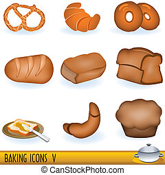 Baking Icons 5 - A collection of baking icons, part 5