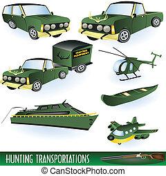 Hunting transportation