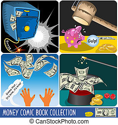 Money Comics Collection - A collection of money comics...