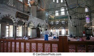 Blue Mosque, shooting Canon 5D MarkII