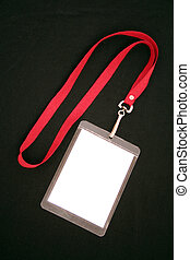 blank lanyard identity press pass
