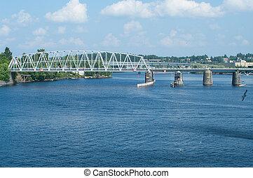 Finland bridgeSavonlinna