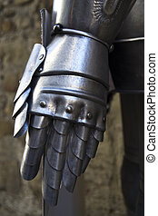 metal glove