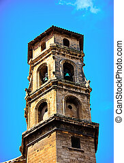 Stock Photo - Chirch - church with bells in Palma de...