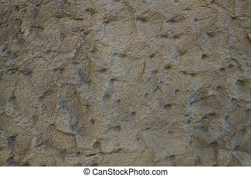 background or texture of a jagged sandstone wall