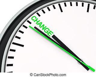 3d clock time change countdown deadline green