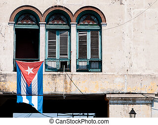 T the street of Havana - Typical view at the street in...