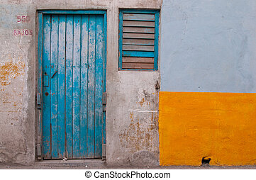 play of the colour at Old district