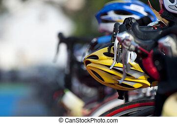 triatlón, ciclos