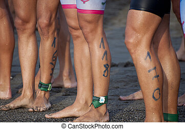 Triathlon Legs 163, 118, 170 - A few pairs of legs with...