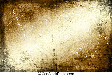 Old antique wall as background - Old grunge shadowy wall