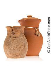 Two ceramic jugs