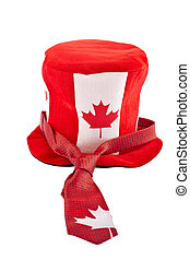 Canada Day national holiday apparels - Funny hat and tie...