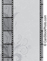 film strip background - vector film strip background in...