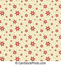 Seamless tile Snowflake background - Seamless tile Christmas...