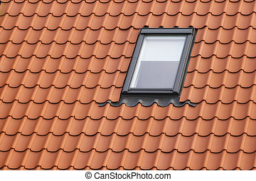 Dormer - Roof with red tiling and dormer
