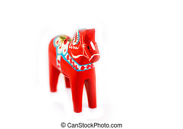 Häst, röd