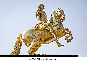 golden rider - An image of the famous golden rider in...