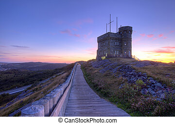 Cabot Tower in St Johns