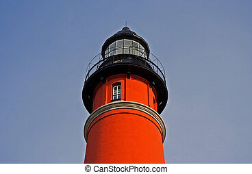Ponce Inlet Lighthouse near New Smyrna Beach, Florida