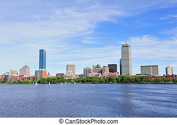 Urban cityscape in Boston